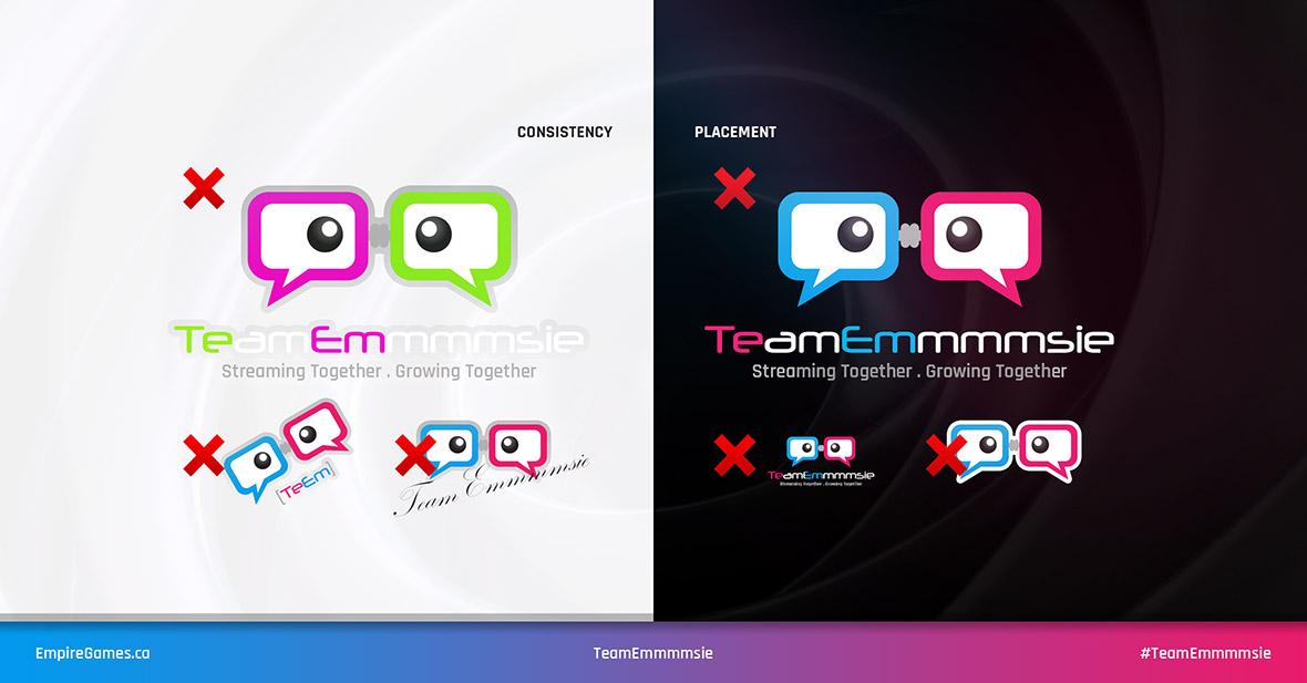 TeamEmmmmsie Logo - Guidelines