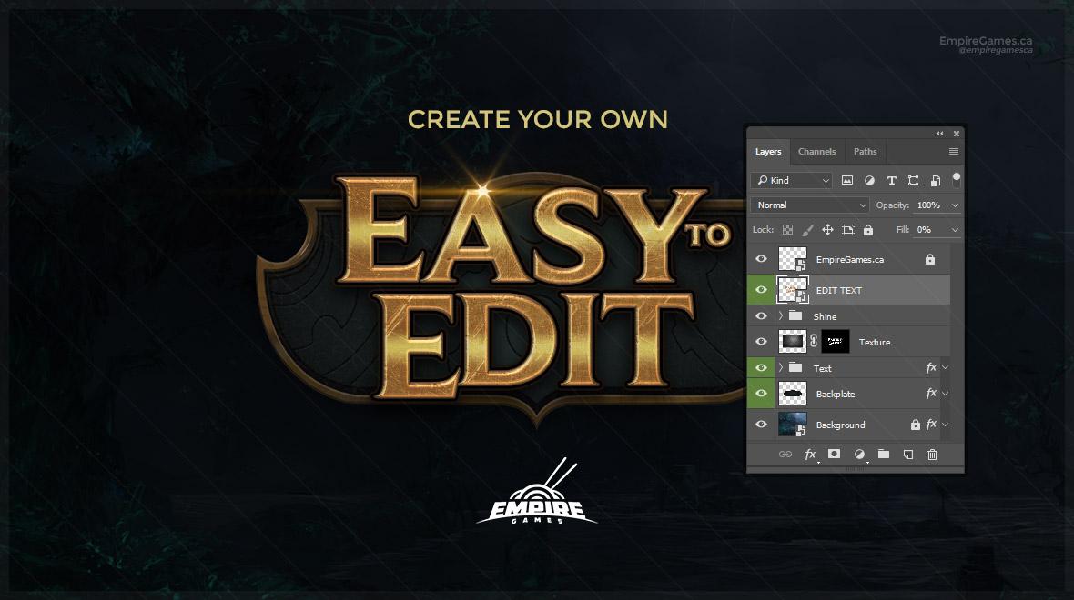 Logo League Of Legends Creator Empire Games