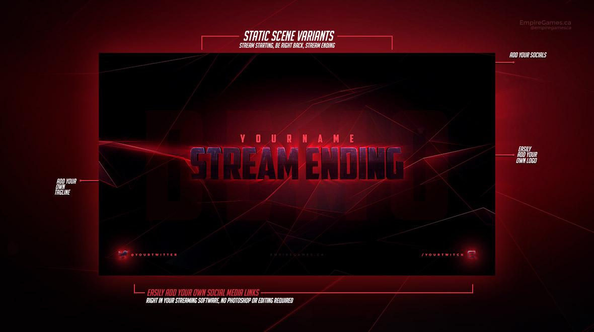 Alliance: Stream Overlay Pack (Static) • Empire Games